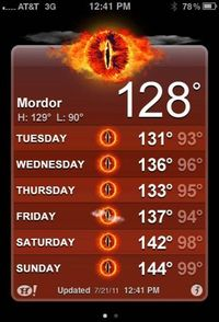 """""""One does not simply """"Tan"""" while sunbathing in Mordor."""" -- Haha that's hilarious."""