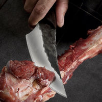 Chef Knife Forged Steel Hunting Outdoor Home Kitchen Tool $39.80