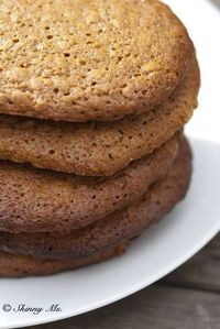 If you like the rich, warm flavor of molasses, you'll love these molasses and honey oatmeal cookies! They are a healthier twist on traditional cookies, which me