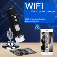 50-1000 Times WIFI Digital Microscope Cell Phone Microscope Cultural Relic Identification Jewelry and Jade Skin Hair Five Senses