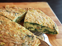 Puffy Ramp Frittata Recipe