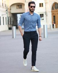 Create a stylish look with this Oxford Men White formal dress shirt. Woven in Egyptian cotton this formal shirt has a fine finish.  �€� 100% Superfine Egyptian Cotton  �€� Classic collar  �€� French cuff  �€� Oxford Men...