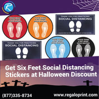 Get Six Feet Social Distancing Stickers at 15% Halloween Discount.jpg