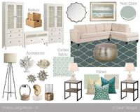 Mood Board // A Relaxing, Coastal Living Room....thought of your wonderful oasis when i saw this