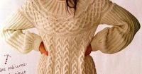 Knitted sweater - I love it - could I convert it to crochet?