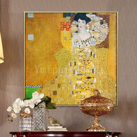 Portrait painting Gustav Klimt Art Reproduction oil Painting Home Decor Wall Pictures framed Wall art in Museum Quality $299.00