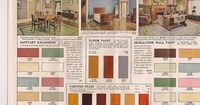 1920's Interior House Colours