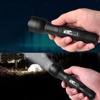 Eagle Eye X3R USB Rechargeable Charging 18650 LED Flashlight Torch Tent Light - Warm White