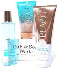 Bath & Body Works At the Beach Sea Salt Body Scrub, Shower Gel & Body Mist $31.50