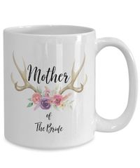 Mother of the bride White Ceramic Coffee Mug |Wedding Gift | Engagement Gift | Anniversary| Newly Weds| Couple| Bride| Groom| $17.45