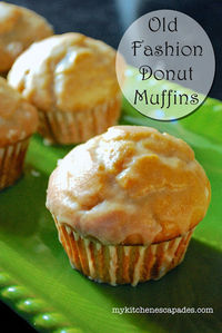 Old Fashioned Donut Muffins by My Kitchen Escapades