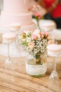 You will die when you see the table in this Girly Vintage Chic 1st Birthday Party featured at Kara's Party Ideas! Plus, you'll love the other ideas too!!!