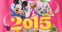 My Disney Life: My 2015 Blog and Disney Goals- Happy 2015 Everyone!!! Great page layout idea!!!