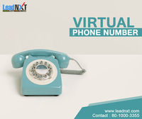 Virtual Phone Number  Leadnxt provides a #virtual phone number, requiring virtual phone numbers to communicate effectively with its users. This allows the presence of phone, address and voice to their customers. It exists anywhere within the world. Virt...