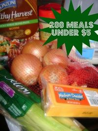 200 Meals Under $5- I need topostthis to read later