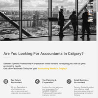 Sameer Somani: Tax Accountant Services In Calgary - Get a Free estimate