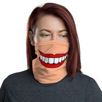 Reusable female face mask / neck gaiter / reusable face shield / headband / bandana / wristband / neck warmer. $29.26