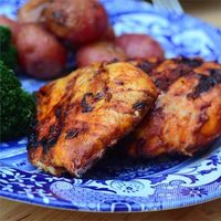 """Good Frickin' Paprika Chicken   """"This really IS good frickin chicken! I didn't think the added vinaigrette at the end would add anything flavor-wise but it cuts the heaviness of the yogurt marinade perfectly."""""""