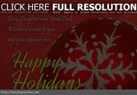 Happy holidays greetings e-cards