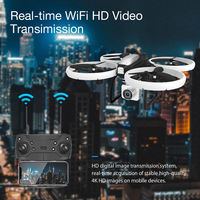 Eachine E020 LED WIFI FPV With 4K/1080P HD Wide Angle Camera Altitude Hold Mode RC Drone Quadcopter RTF