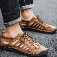 Summer Genuine Leather Breathable Hollow Men Moccasin Shoes,NEW,on Sale! More Info:https://cheapsalemarket.com/product/summer-genuine-leather-breathable-hollow-men-moccasin-shoes/