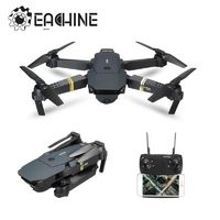 Eachine E58 WIFI FPV With Wide Angle HD Camera High Hold Mode Foldable Arm RC Quadcopter RTF Drone VS VISUO XS809HW $215.96