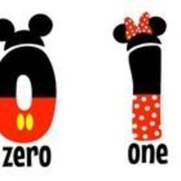 Mickey and Minnie Mouse Numbers for the classroom. Included are numbers 0-20, then 30-100 counting by tens. All even numbers are Mickey and all o...