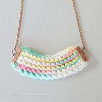 Turn your scraps of yarn into knitted accessories with our free knitting pattern.