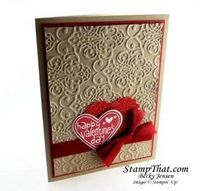 Stampin' Up! Valentines Day Card
