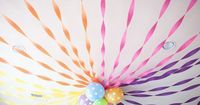 """I love using crepe paper�€""""it's cheap, comes in lots of fun colors and you can create so many fun things! like�€�. Flowers made out of crepe paper unravel it and us"""