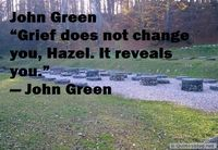 Smart quote about grief