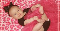 cute baby, cute outfit, cute photo ~ <3 her grabbing her toes!