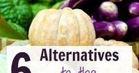 The grocery store isn't the only place to find food! Here are 6 alternatives to the grocery store, including CSAs, Craiglist, online, gardening, and more.