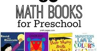 60 books for teaching math concepts in your preschool or kindergarten classroom. Books about counting, numbers, shapes, colors, patterns and more!