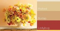 Flower Arrangement Palette http://www.colourlovers.com/home/blog/2012/01/20/interior-paint-palettes-we-love