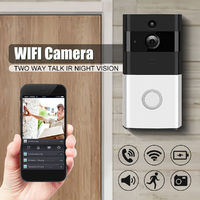 Wireless Wifi Camera Door Bell Two Way Talk IR Night Vision Doorbell