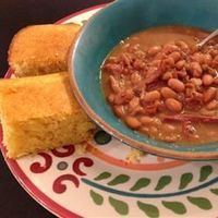 Southern Ham and Brown Beans Allrecipes.com. This is one of my favorites.