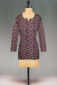 online shopping for crepe art silk kurtis are available at www.unnatisilks.com