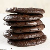 Flourless chewy chocolate cookies, these are divine!