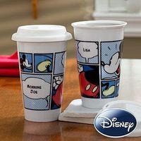Disney® Personalized Mickey Mouse Reusable Travel Tumbler - I think I know a few people who would LOVE this!