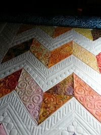 Working with chevrons, used versa vees from Stitch Happy