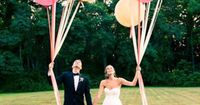 let balloons go at the ceremony -- ok i need balloons.