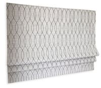 Bamburg Geometric Pattern 4 Colours Flat Roman Shade $97.00