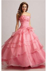 Ball Gown Sweetheart Tulle Floor-length Prom Dresses