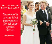 Photo Booth Rent Bay Area provides the best Event experience for you in San Jose