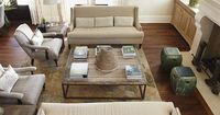 Furniture placement, neutral palette. (urban grace interiors | Urban grace interiors. | There's No Place Like...