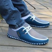 New Released Casual Lace-up Breathable Lace-up Men Shoes $39.00