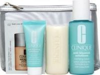 Clinique Gifts and Sets Anti Blemish Set Includes: All over clearing treatment 15ml: This lightweight, soothing formula helps treat existing blemishes, prevent future breakouts, control excess oil and create a barrier against blemish-causing http://www.co...