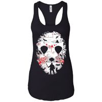 Crystal Lake - Horror Art - Women's Racerback Tank Top $19.97