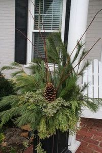 Decorate Your Mailbox for Christmas | Decorating your outdoor containers for Christmas... - inspire, create ...